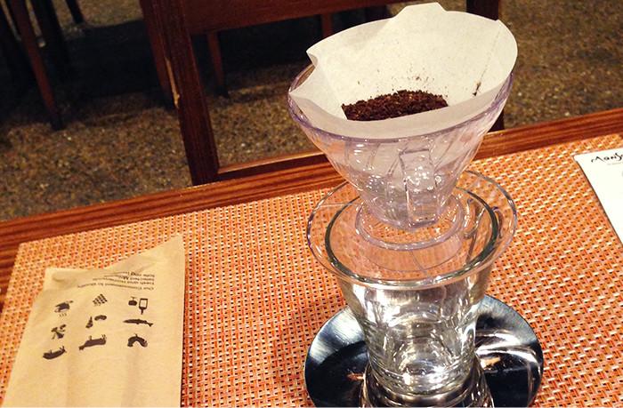 ペーパードリップ コーヒー