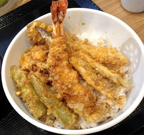 天ぷらしょうてんの天丼