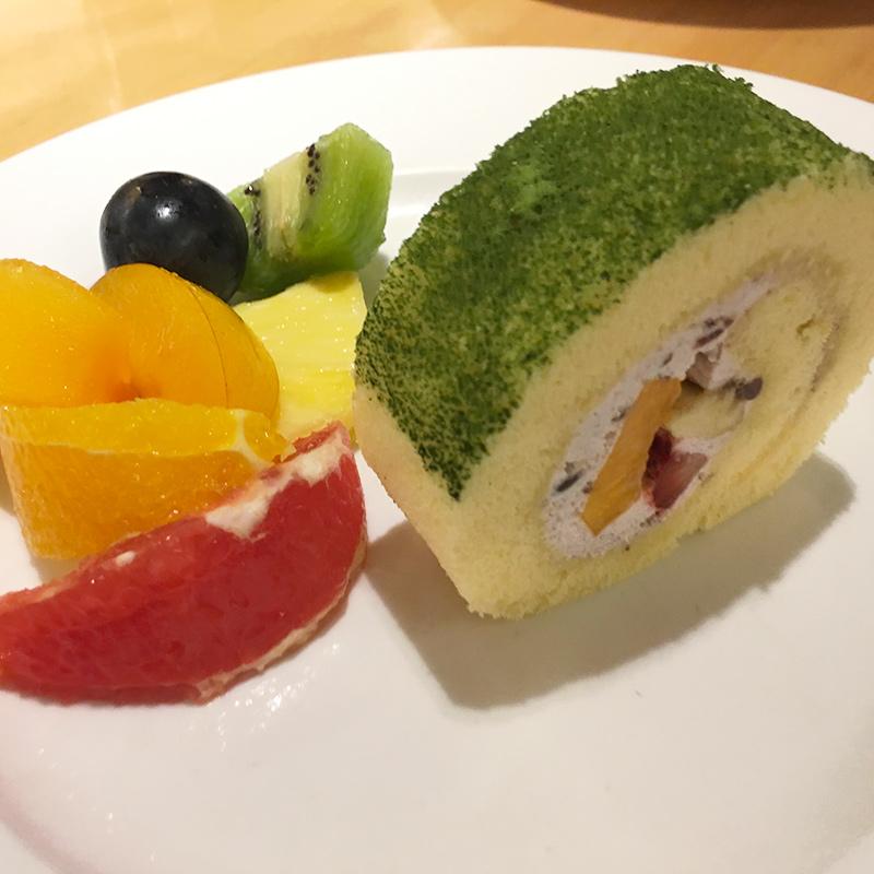 京橋千疋屋のランチ、スペシャルデザート