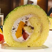 京橋千疋屋の京橋本店で、本日のランチを食べた!フルーツ添えのスペシャルデザートも