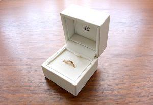 4℃のペアリング(指輪)を「なんぼや」で買取りLINE査定、実店舗で買取り