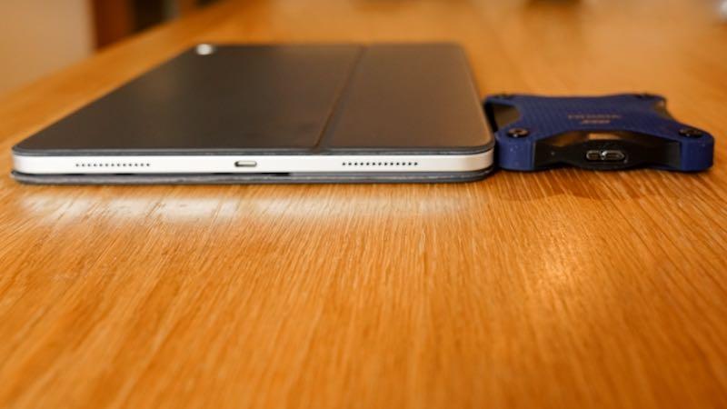 iPad Proと高さ比較